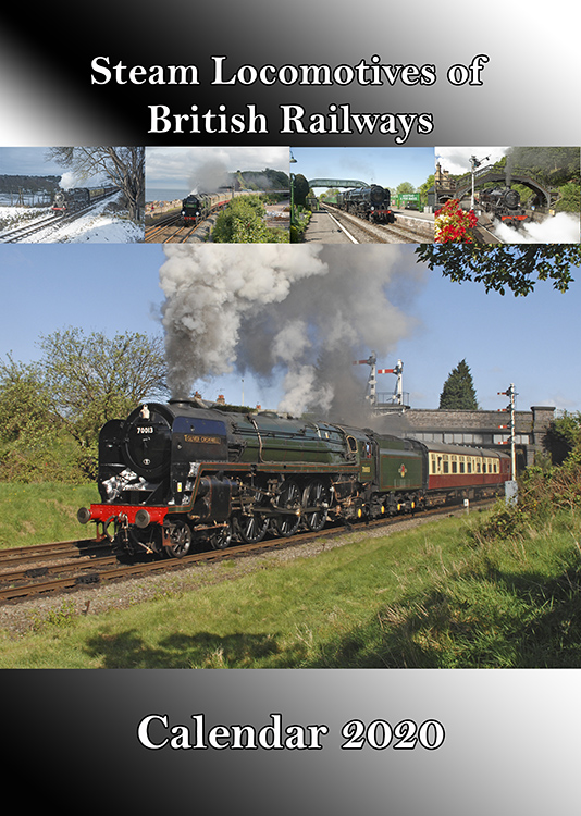 Steam Locomotives of British Railways Calendar 2020