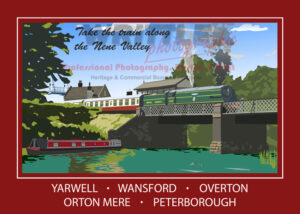 Take The Train Along The Nene Valley