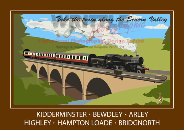 Take The Train Along The Severn Valley