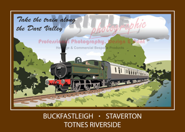 Take the Train Along The Dart Valley