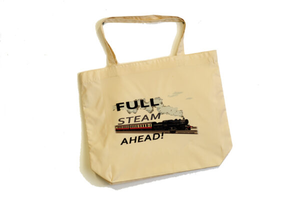 Full Steam Ahead Tote Bag