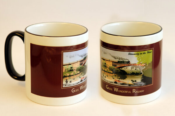 'Gods Wonderful Railway' Two-Tone Mug