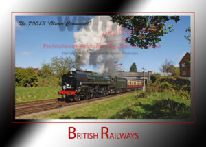 British Railways - 70013 'Oliver Cromwell'