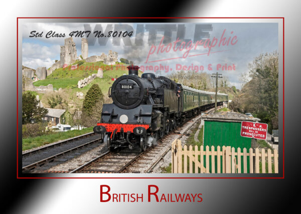 British Railways - 80104 at Corfe Castle