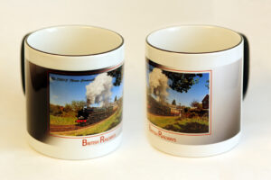 BR 60009 70013 Oliver Cromwell Two-Tone Mug