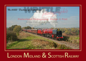LMS A3 POSTER 6023 DUCHESS OF SUTHERLAND