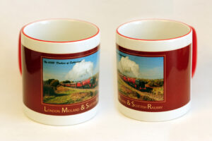 LMS 6233 Duchess of Sutherland Two-Tone Mug