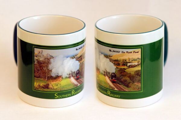 SR 34053 Sir Keith Park Two-Tone Mug