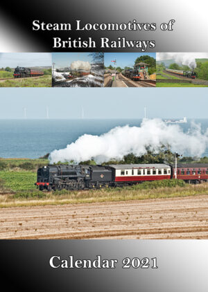 Steam Locomotives of British Railways Calendar 2021