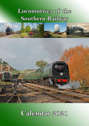 Locomotives of the Southern Railway Calendar 2021