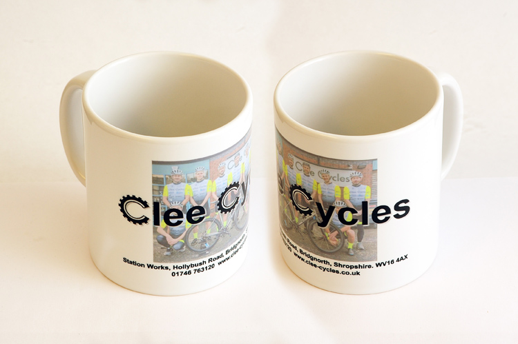 CLEE CYCLES CERAMIC MUG