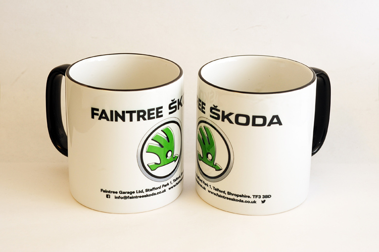 FAINTREE SKODA TWO TONE MUG