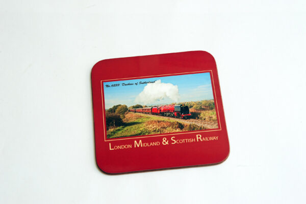 London Midland & Scottish Railway - 'Duchess of Sutherland' Square Coaster